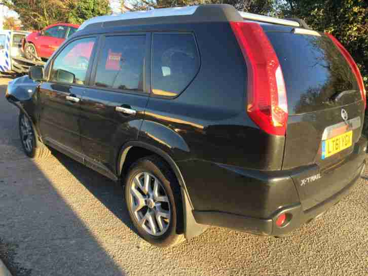 Nissan Salvage For Sale Repairable Cars At Auction Prices: 2011 NISSAN X TRAIL TEKNA DCI DAMAGED REPAIRABLE SALVAGE