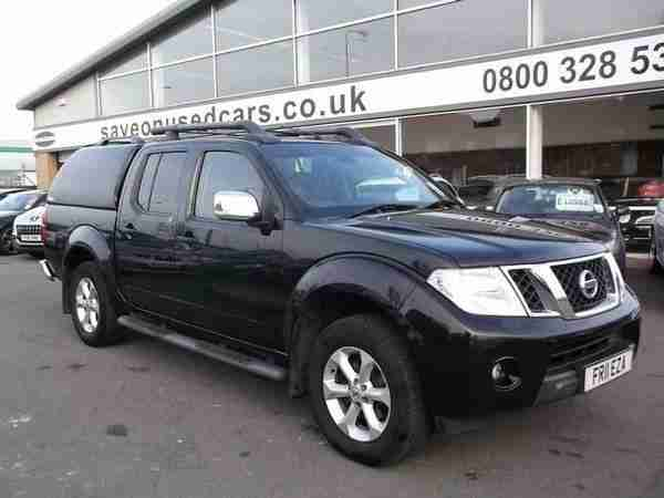 2011 Navara Double Cab Pick Up Tekna