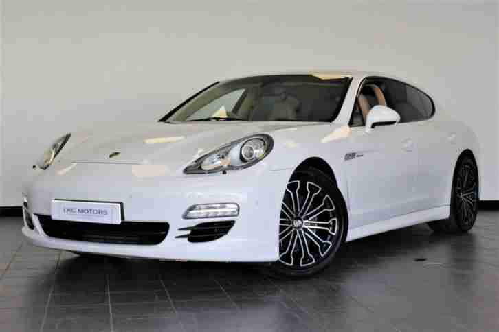 Porsche PANAMERA. Porsche car from United Kingdom