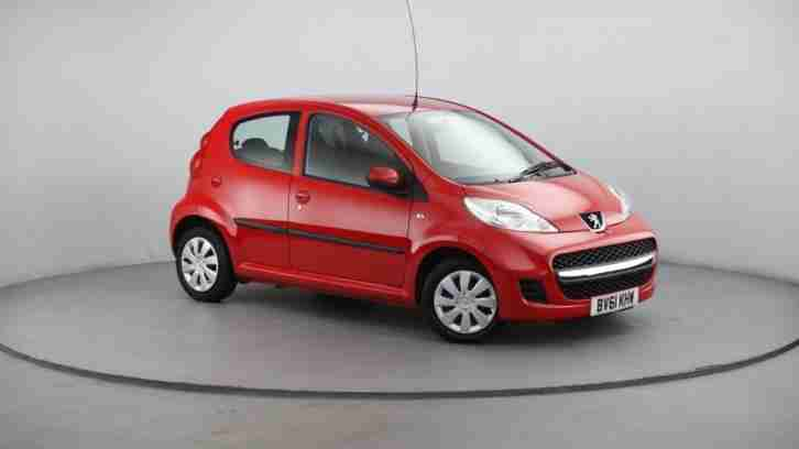 Peugeot 107. Peugeot car from United Kingdom