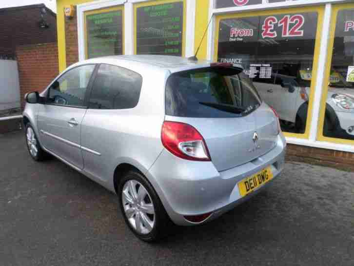 2011 Renault Clio 1.2 GT Line TomTom 3dr