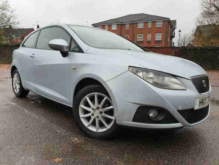 2011 SEAT IBIZA 1.2 TDI SPORT 3DR | 12 MONTHS MOT+HILL ASSIST+S S+INT FOG LIGHTS