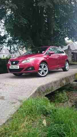 2011 IBIZA 1.4 SPORTRIDER, RED, VERY LOW