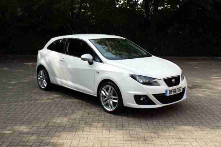 seat 2011 ibiza 1 4 tsi fr 3dr dsg full service history. Black Bedroom Furniture Sets. Home Design Ideas