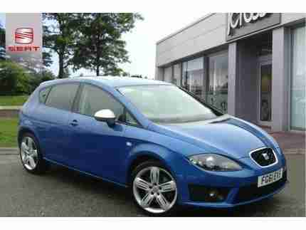 2011 SEAT LEON 2.0 TDI FR+ MANUAL 5-DOOR HATCHBACK