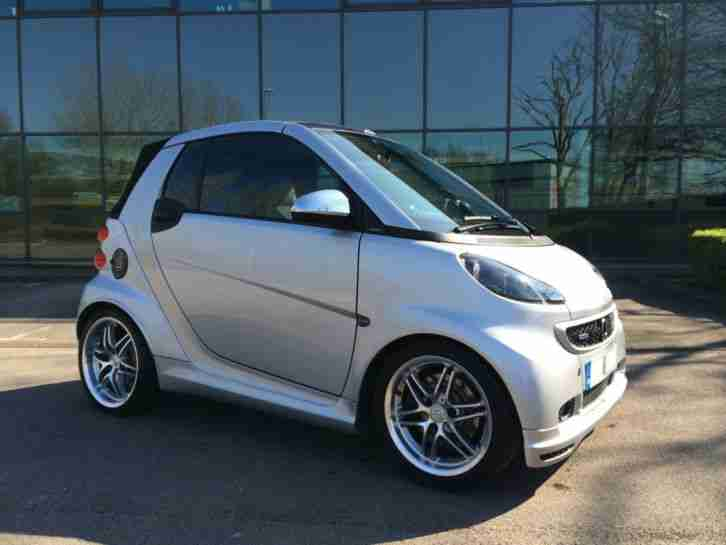 smart 2011 fortwo brabus xclusive a silver car for sale. Black Bedroom Furniture Sets. Home Design Ideas
