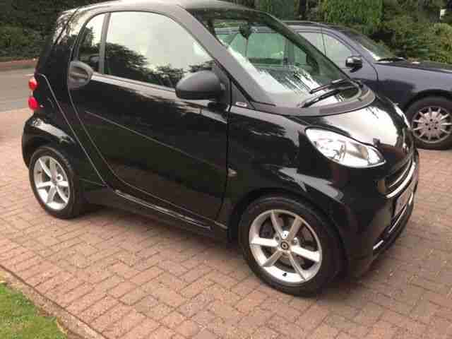 smart 2011 fortwo pulse cdi auto black car for sale. Black Bedroom Furniture Sets. Home Design Ideas