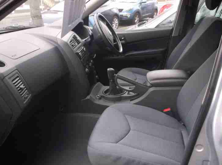 2011 SSANGYONG KYRON M200 XDI 2.0 DIESEL EST IN SILVER CLOTH UPHOLS SPORT SEATS