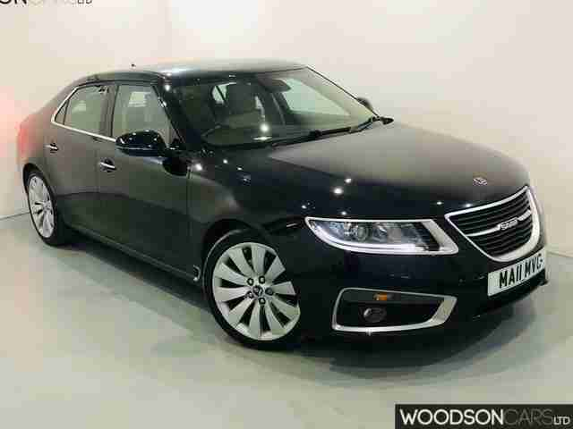 2011 Saab 9 5 2.0 TTID Aero Saloon Diesel Manual in BLACK