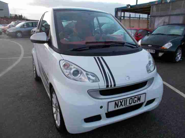 2011 Smart fortwo 0.8cdi Passion 2dr Softouch