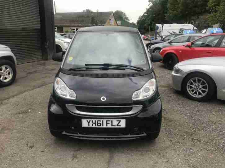 2011 Smart fortwo 0.8cdi Softouch Pulse DIESEL