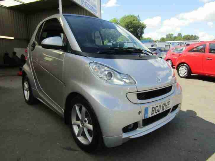 2011 fortwo 1.0 MHD Pulse Softouch 2dr
