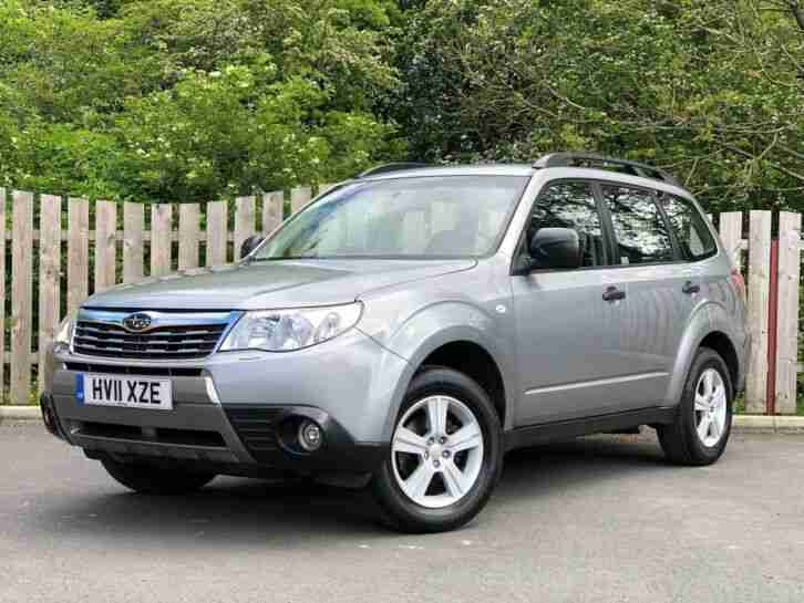 2011 Forester X 2.0i 5dr FSH AT