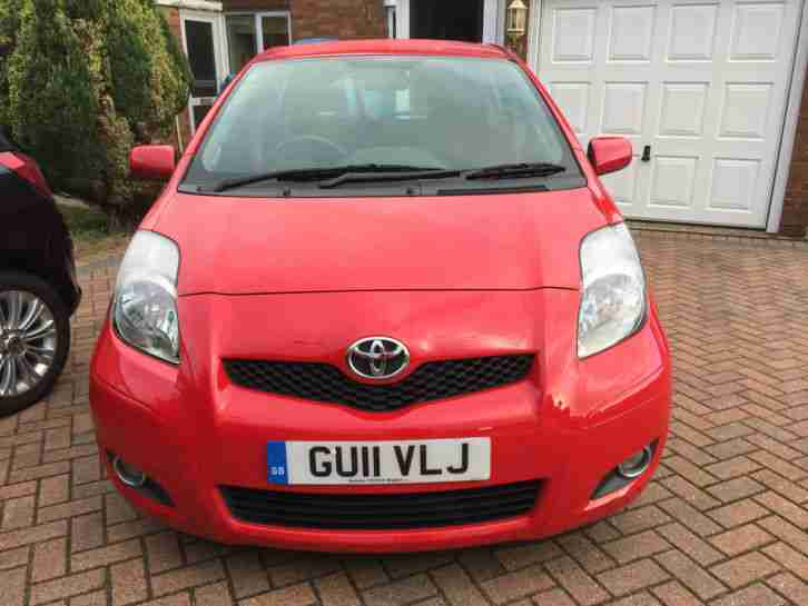 2011 YARIS T SPIRIT D 4D RED