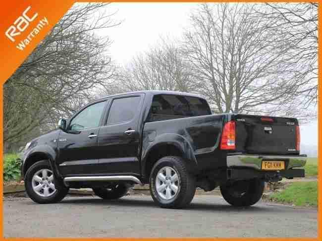 Toyota 2011 Hilux 3.0 D 4D Turbo Diesel Invincible Auto 4x4 DC Crew