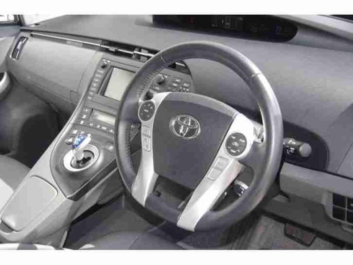 Toyota 2011 prius 1 8 vvti t spirit 5dr cvt auto leath for Prius electric motor for sale