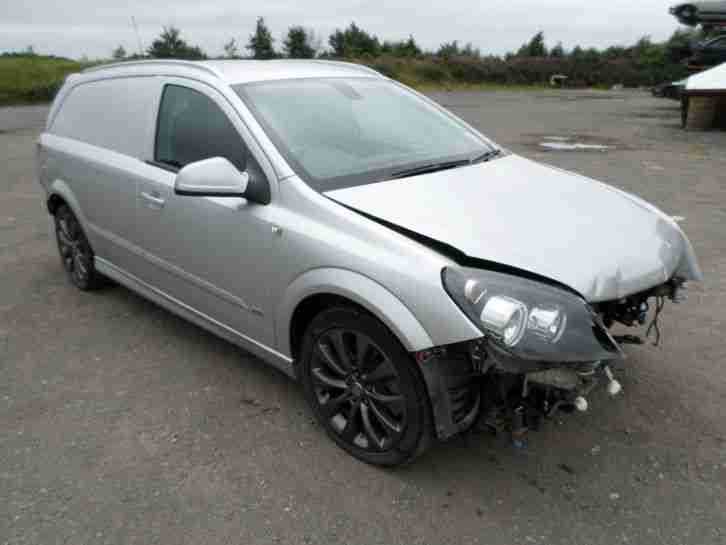 2011 VAUXHALL ASTRA VAN SPORTIVE SE CDTI DIESEL CAT D CATEGORY D
