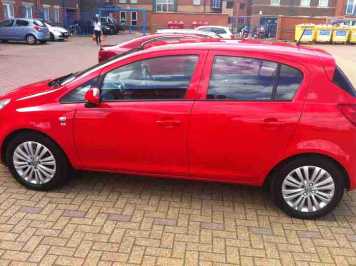 2011 vauxhall corsa excite ac ecoflex red car for sale. Black Bedroom Furniture Sets. Home Design Ideas