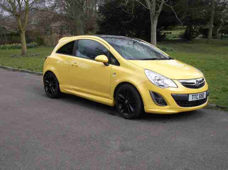 2011 VAUXHALL CORSA LIMITED EDITION 1.2