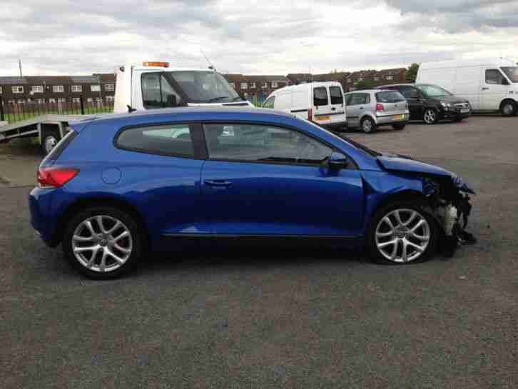 2011 VOLKSWAGEN SCIROCCO BLUEMOTN 2.0TDI DSG AUTO DAMAGED REPAIRABLE SALVAGE