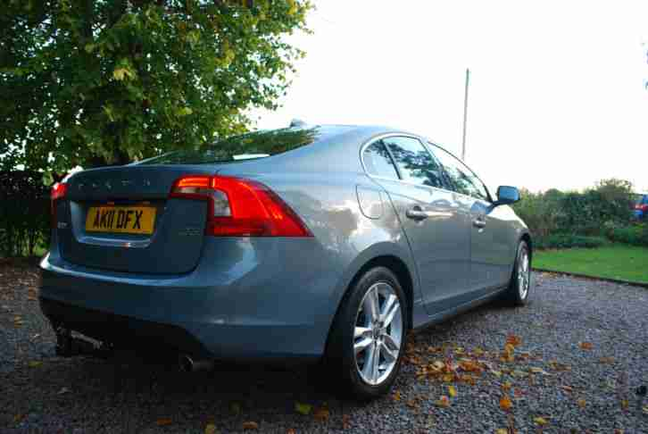 2011 VOLVO S60 SE LUX PREMIUM D5 GEARTRONIC BEAUTIFUL BLUE AND ONLY 47K MILES