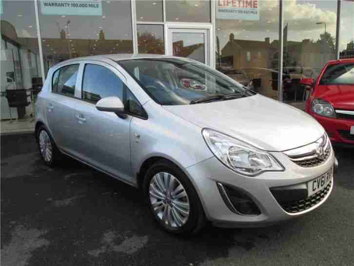 2011 vauxhall corsa excite vvt ecotec 4 petrol silver manual car for sale. Black Bedroom Furniture Sets. Home Design Ideas