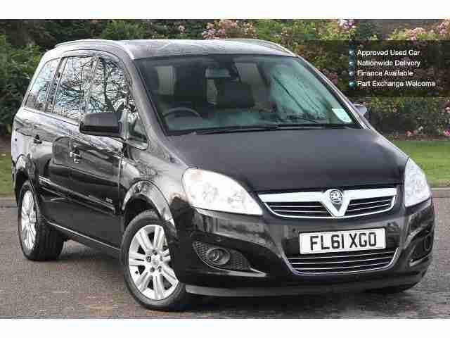 2011 vauxhall zafira 1 7 cdti ecoflex elite 110 5dr diesel estate. Black Bedroom Furniture Sets. Home Design Ideas