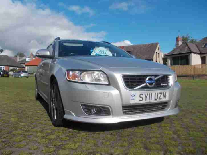2011 V50 D2 [115] R DESIGN 5dr 5 door