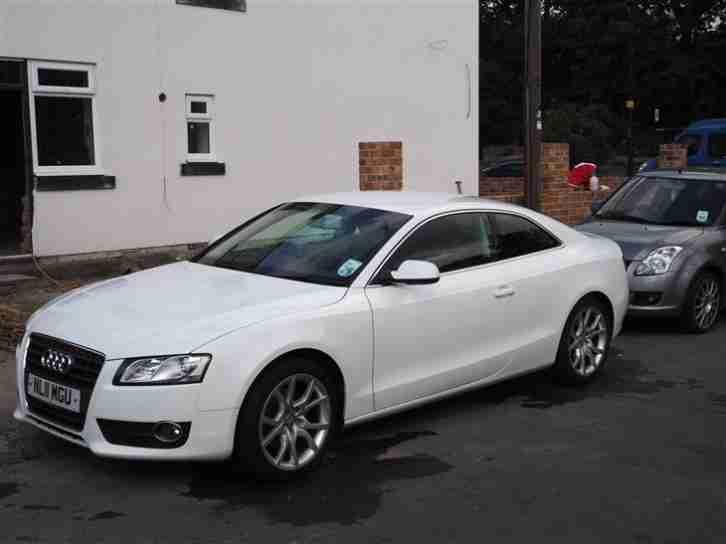 Audi 2011 white a5 coupe 1 8 tfsi petrol manual leather low mileage - White audi a5 coupe for sale ...