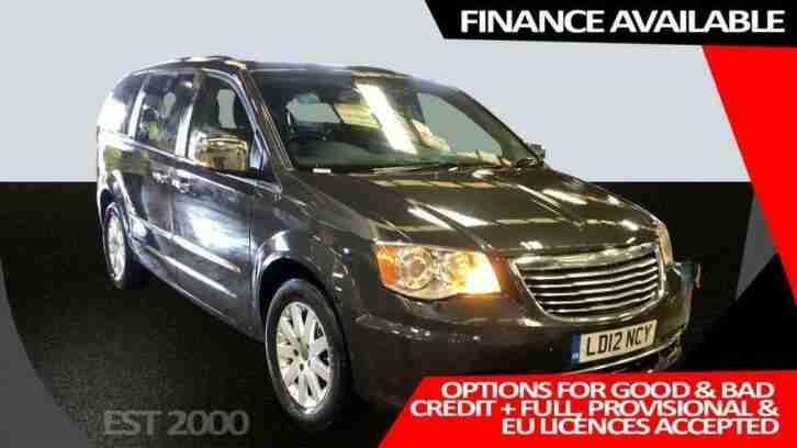 2012 12 CHRYSLER GRAND VOYAGER 2.8 CRD LIMITED 5D 161 BHP DIESEL