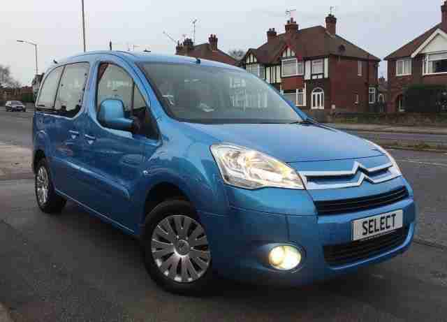 2012 12 BERLINGO 1.6 MULTISPACE VTR