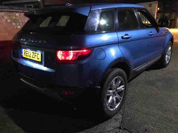 2012 12 Land Rover Range Rover Evoque 2.2 TD4 Pure TECH 5 Door