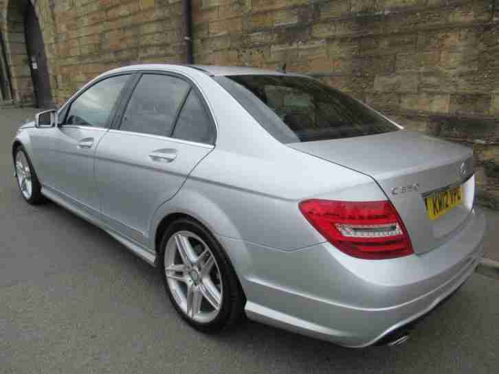 2012 12 MERCEDES-BENZ C CLASS 3.0 C350 CDI BLUEEFFICIENCY AMG SPORT 4D AUTO 262