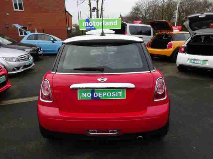 2012 12 MINI HATCH COOPER 1.6 COOPER LONDON 2012 EDITION 3D 120 BHP
