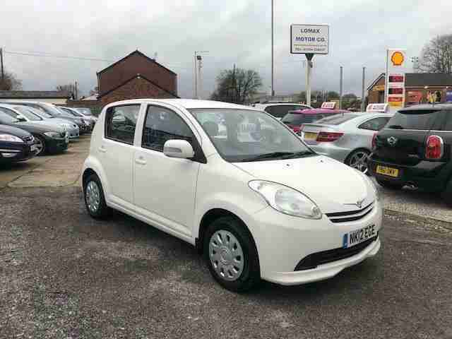 2012 12 Perodua Myvi 1.3 SXi 5 Door Hatch Manual Petrol In White