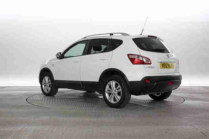 nissan 2012 12 reg qashqai 1 5 117 n tec plus 4x2. Black Bedroom Furniture Sets. Home Design Ideas