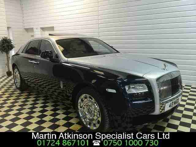 2012 12 Rolls-Royce Ghost 6.6 V12 (563bhp) Only 12,900 Miles £50,000 of Options