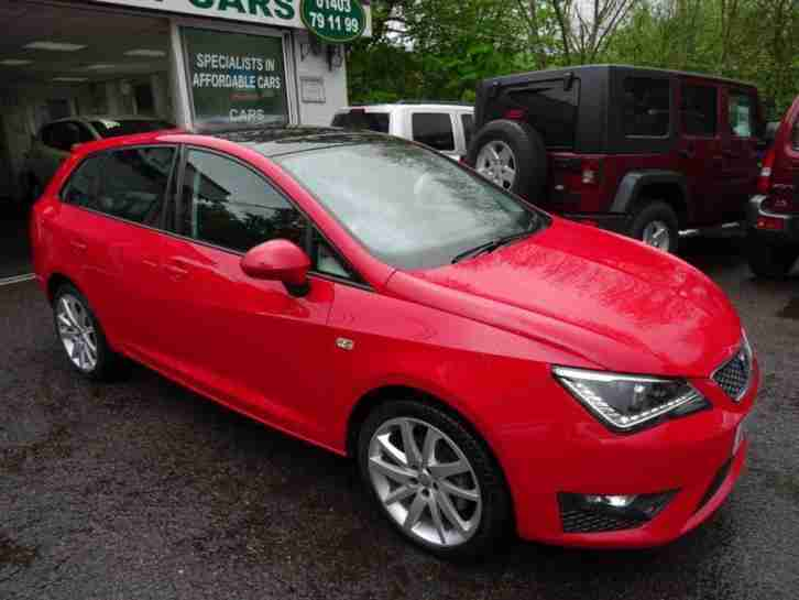 seat 2012 12 ibiza 1 6 cr tdi fr 5d 104 bhp diesel car for sale. Black Bedroom Furniture Sets. Home Design Ideas