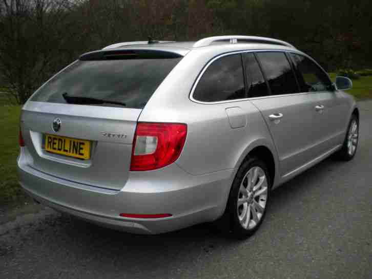 2012/12 SKODA SUPERB ESTATE 2.0TDI CR SE DSG AUTOMATIC (170 BHP)