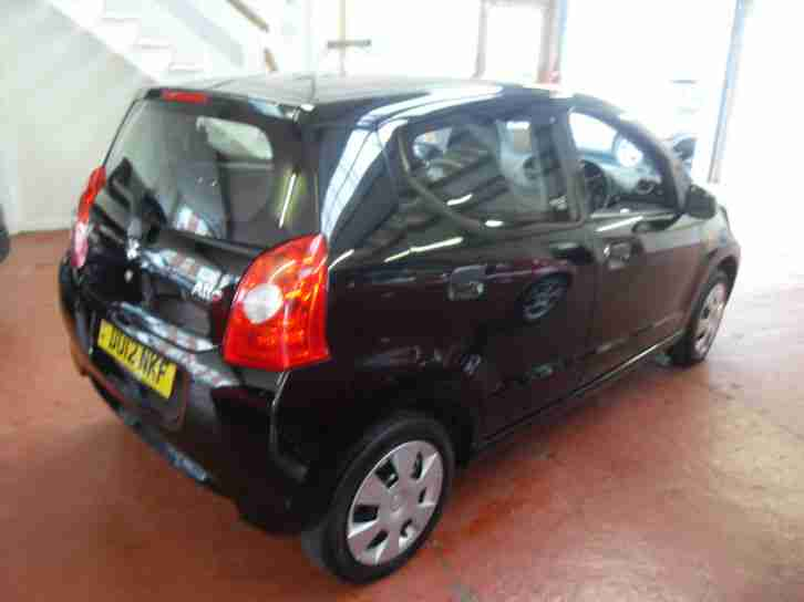 2012(12) Suzuki Alto 1.0 SZ2, 64.2 Ave MPG, £20 road tax.