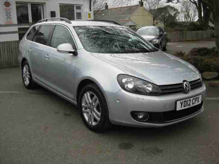 2012/12 Volkswagen Golf 1.6 TDI BlueMotion Tech Sportline Estate £30 Roadtax.