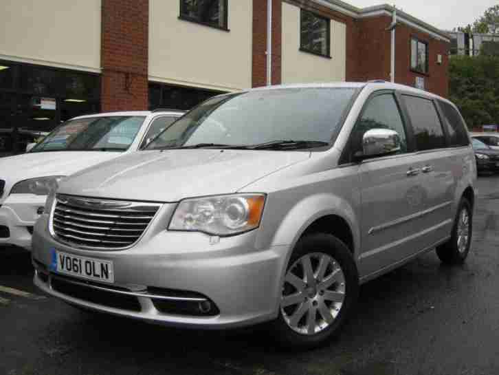 2012 61 CHRYSLER GRAND VOYAGER 2.8 CRD LIMITED 5D AUTO 161 BHP DIESEL