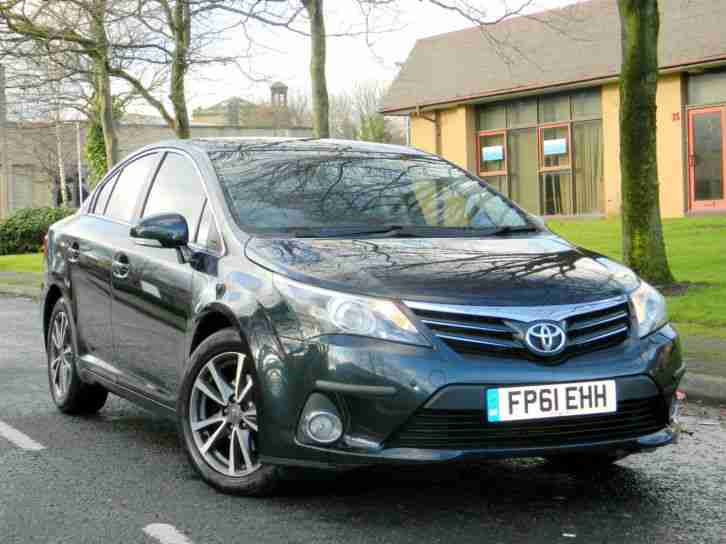 2012 61 Toyota Avensis 2.0 D 4D TR 4dr WITH FSH+SATNAV+BLUETOOTH