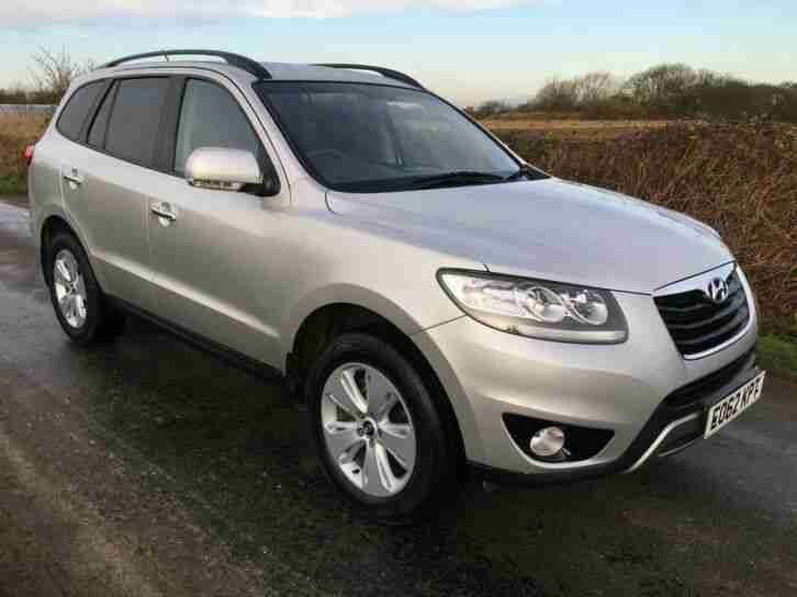 2012(62) HYUNDAI SANTA FE 2.2 CRDi PREMIUM AUTO 7 SEATER LOVELY EXAMPLE BE QUICK
