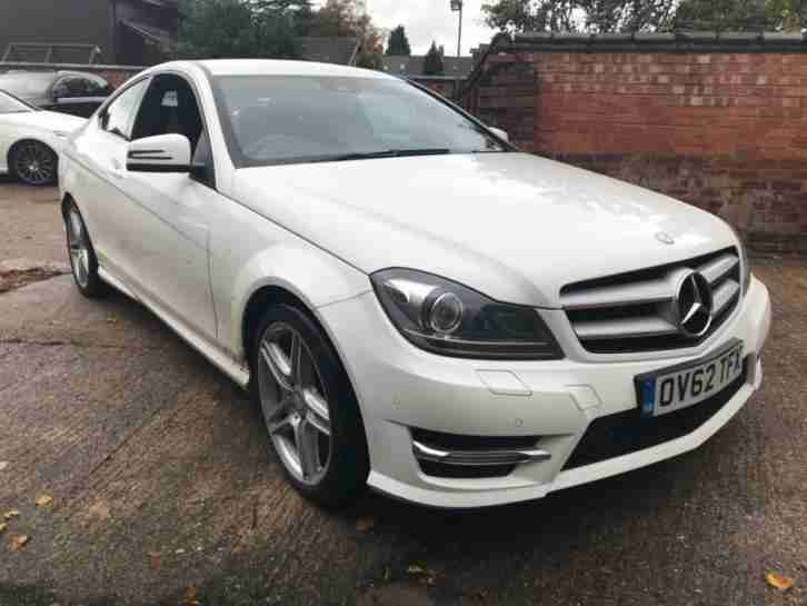 2012 62 MERCEDES BENZ C CLASS C220 CDI BLUEEFFICIENCY AMG SPORT 2DR COUPE