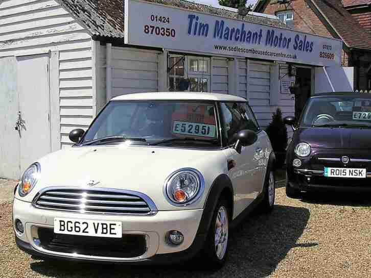 2012 (62) Mini 1.6 One Hatchback 63000 miles FSH