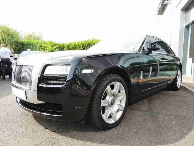 2012 62 ROLLS-ROYCE GHOST 6.6 AUTO ***STUNNING + LOW MILES + FULL RR S/H***