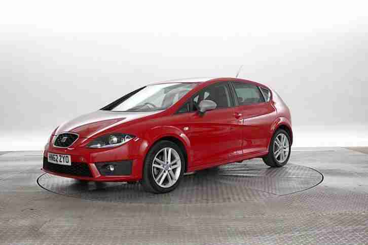 seat 2012 62 reg leon 2 0 tdi 140 fr dsg red 5 standard diesel car for sale. Black Bedroom Furniture Sets. Home Design Ideas