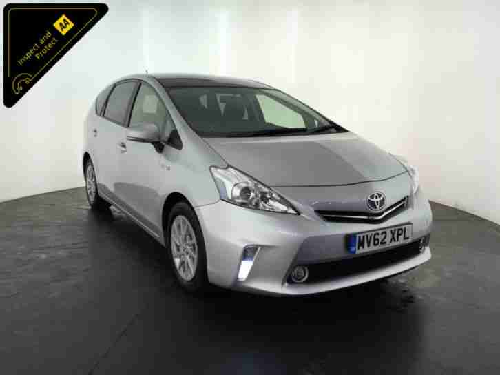 2012 62 TOYOTA PRIUS T4 + AUTOMATIC 7 SEATER 1 OWNER SERVICE HISTORY FINANCE PX