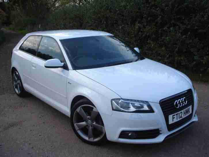 Audi 2012 A3 2.0 TDI S LINE SPECIAL BLACK EDITION 3 DOOR